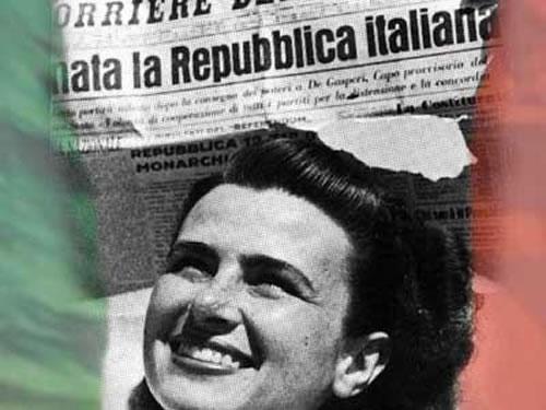 2 giugno 1946 nascita della repubblica italiana for Repubblica italiana nascita